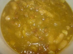 Immune boosting Garlic Lentil Soup