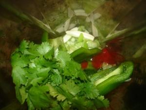 Tomatillo Green Pepper Sauce
