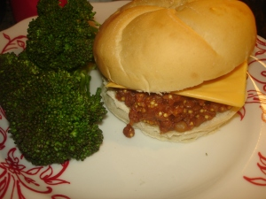 Lentil Sloppy Joe