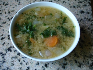 Miso Happy Kale Soup