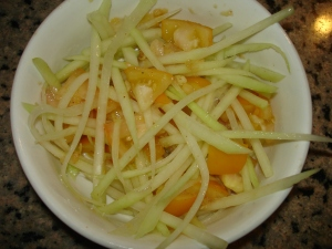 Quick Green Papaya Salad