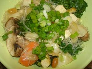 Quick Veggie Pad Thai