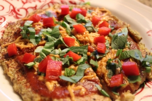 GFV Cauliflower Socca Crust