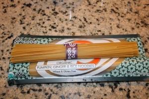 King Soba Pumpkin, Ginger Rice Noodles