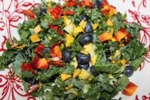 Colorful Daylily Salad