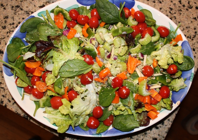 Simple Salad for 4