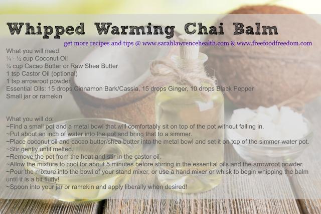 Whipped Chai Balm
